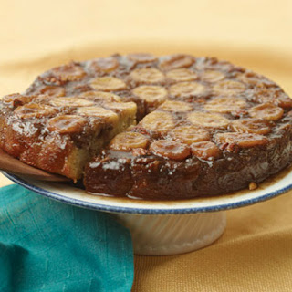 Favorite Sweet + Heat Dessert: Bananas Foster Upside-Down Cake
