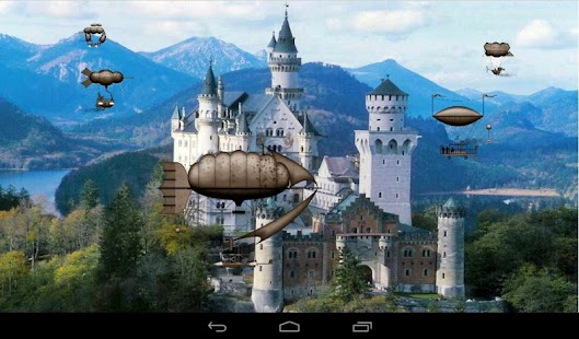 Steampunk Airships Wallpaper- screenshot thumbnail