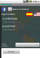 Screenshot of Cellphone Tracker SMS