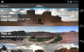 Screenshot of PanoStitch Panorama Picture HD