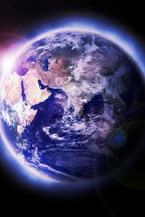 3D Planet Earth Wallpaper - screenshot thumbnail