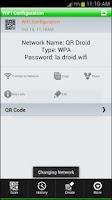 Screenshot of QR-WiFi Plugin™