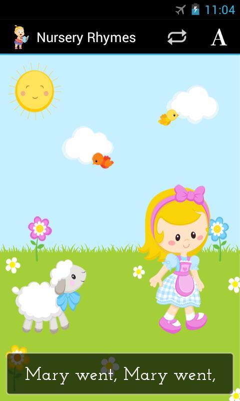 Nursery Rhymes - screenshot