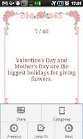 Screenshot of Valentine's Day Fun Facts