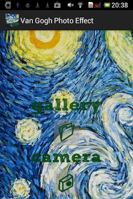 Van Gogh Photo Effect - screenshot