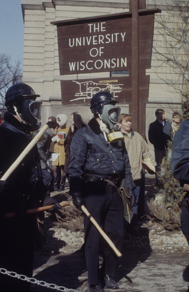 Student Demonstration -University Of Wisconsin -'69