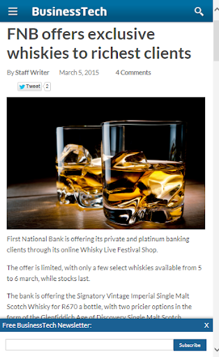 Single Malt Whisky News