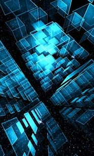 Matrix 3D Cubes 3 LWP- screenshot thumbnail