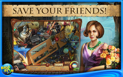 Игра Seven Muses Hidden Object Full для планшетов на Android