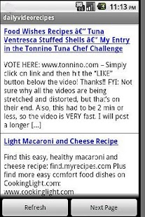 Daily Video Food Recipes - screenshot thumbnail