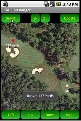 Birdi Golf Range Finder - screenshot