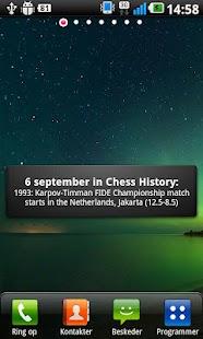 Today in Chess History- screenshot thumbnail