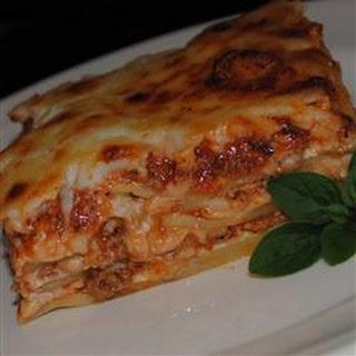 Kristy's Lasagna.