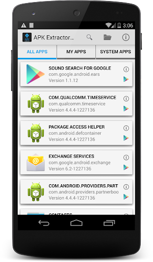 Extract Apks - Google Play Android 應用程式