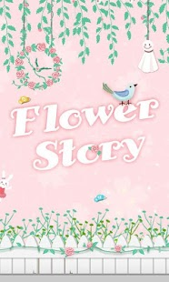 Flower Story GO Super Theme - screenshot thumbnail