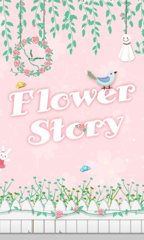 Flower Story GO Super Theme - screenshot