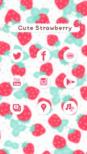 可爱的换肤壁纸★cute strawberry