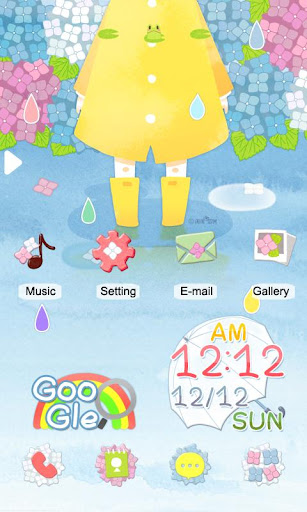 CUKI Themes Rainbow Drop