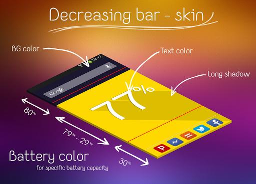 【免費個人化App】平面電量動態桌布-APP點子