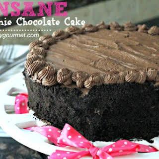 Insane Brownie Chocolate Cake.
