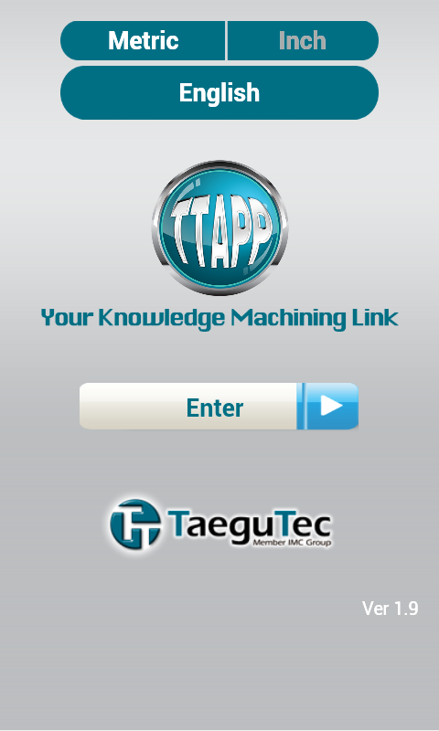 TaeguTec TTAPP- screenshot