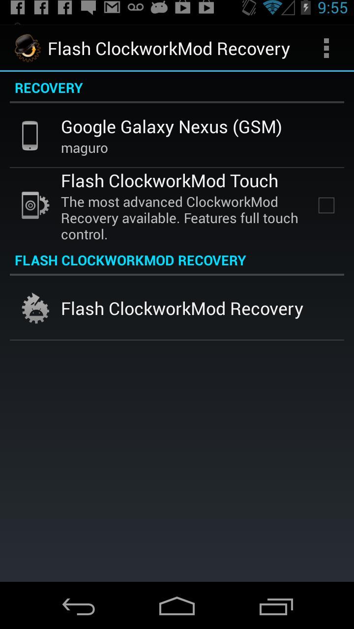 ROM Manager (Premium) screenshot #8
