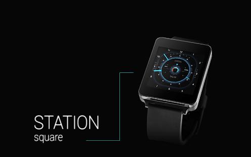 STATION - Watch face Screenshot 3
