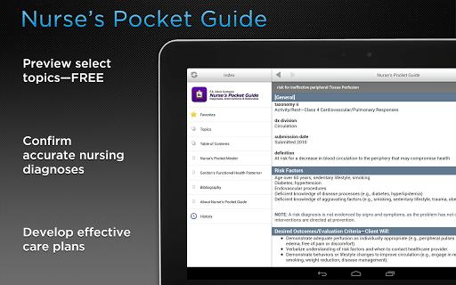 玩免費醫療APP 下載Nurse's Pocket Guide app不用錢 硬是要APP