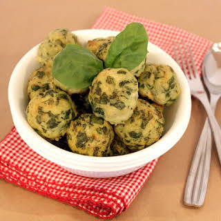 Spinach & Roasted Garlic Turkey Meatballs.