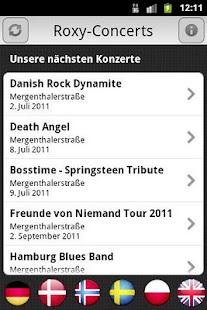 Roxy-Concerts- screenshot thumbnail