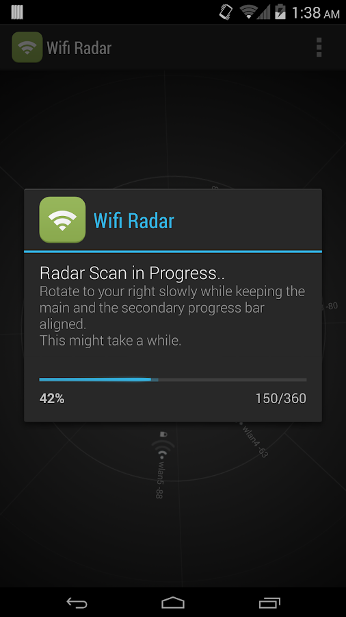 Wifi Radar - screenshot