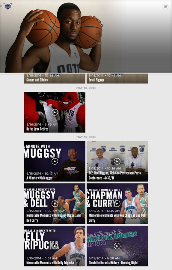 Charlotte Hornets- screenshot