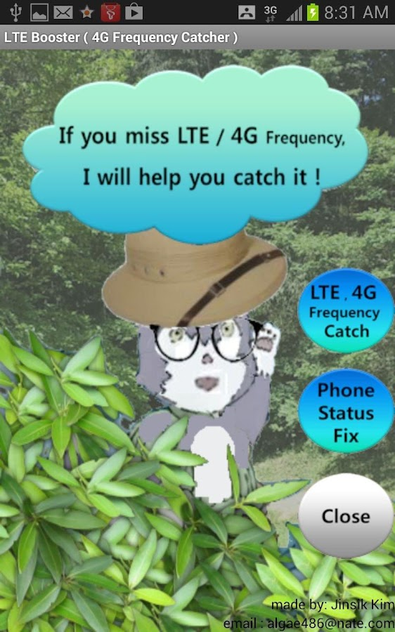 LTE Booster (4G Freq. Catcher)- screenshot