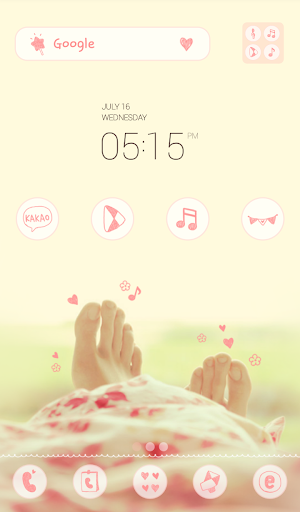 cozy afternoon dodol theme