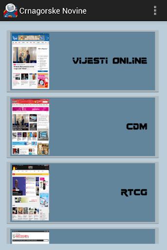 【免費新聞App】Crnagorske Novine-APP點子