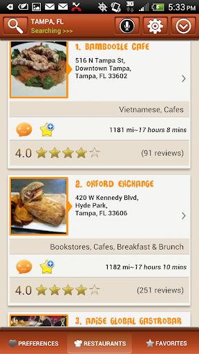 Restaurant Finder Trial