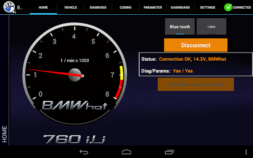 iViNi-apps for BMW - BMWhat - screenshot thumbnail