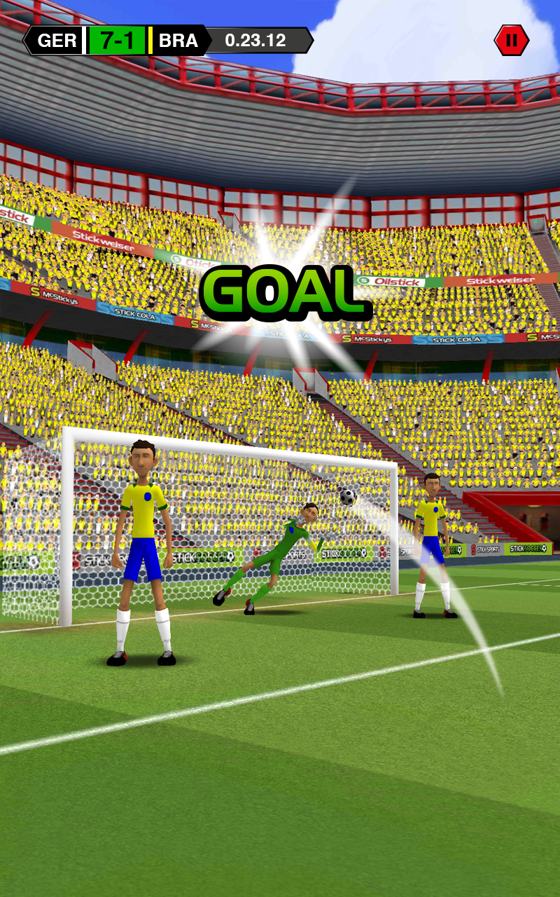 Stick Soccer screenshot #6