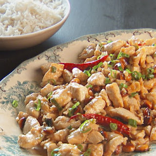Stir-Fried Chinese Chicken and Peanuts.
