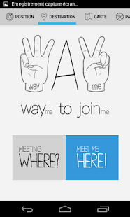 WAYme - Meet up with friends!- screenshot thumbnail
