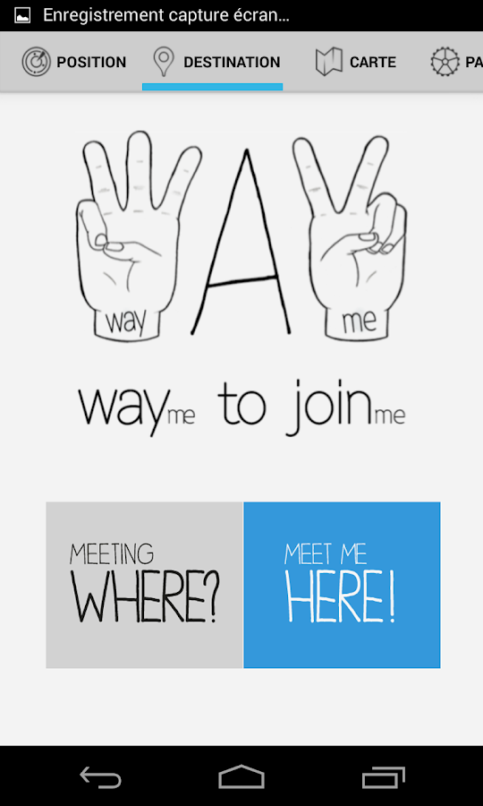WAYme - Meet up with friends!- screenshot