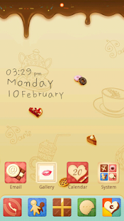 Sweet GO Launcher Theme - screenshot thumbnail