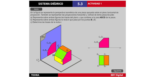 Sistema Diédrico I