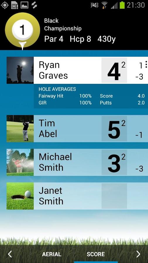 Golfshot Classic - screenshot