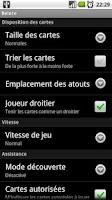 Screenshot of French Belote