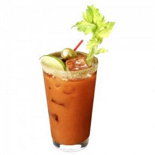 Basil Hayden's Bloody Mary.