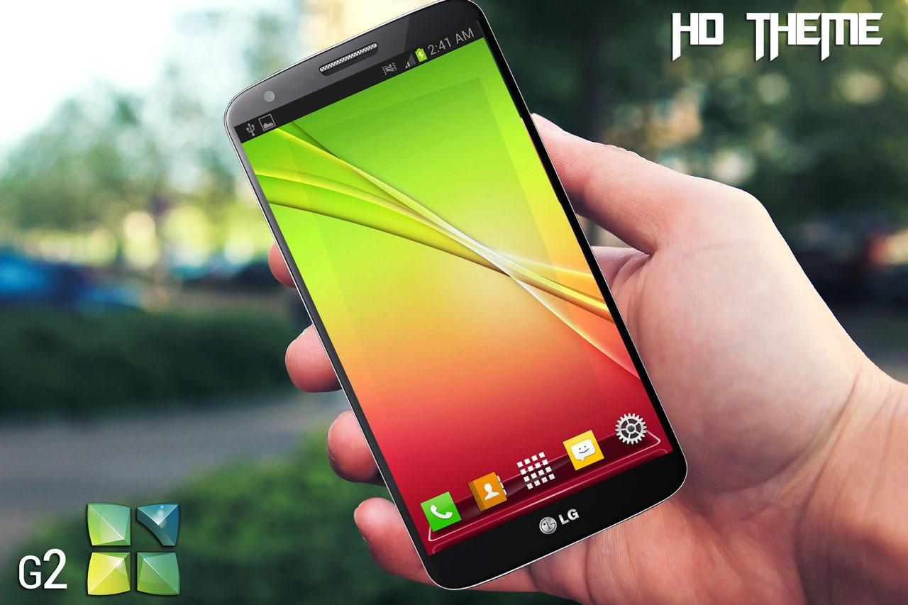 Lg g2 next launcher theme - screenshot