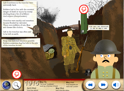 World War One - WW1 For Kids - screenshot thumbnail