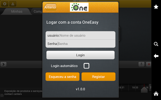 OneEasy - for Tablet