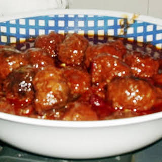 Sweet and Sour Meatballs I.